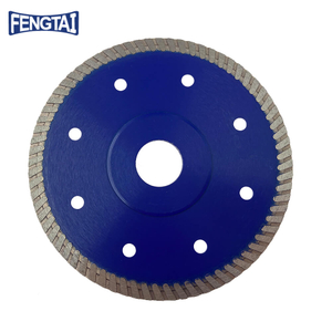 High Class 125*1.3/0.8*7*72*22.23mm Hot Press 5inch Diamond Turbo Saw Blade for Cutting Granite