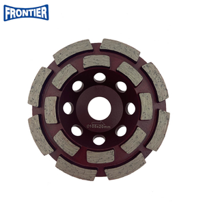 105*30/20*8*5*12*20 Diamond Cup Grinding Wheel for Concrete , Stone