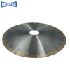 356*43.4/40.9*2.8/2.2*10*25*60mm 14 Inch 10mm Height Silver Brazed Diamond Saw Blade for Cutting Quartz Stone