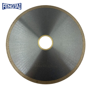 300*2.0/1.6*10*60mm Hot Press 12inch Continuous Rim Diamond Saw Blade for Cutting Ceramics