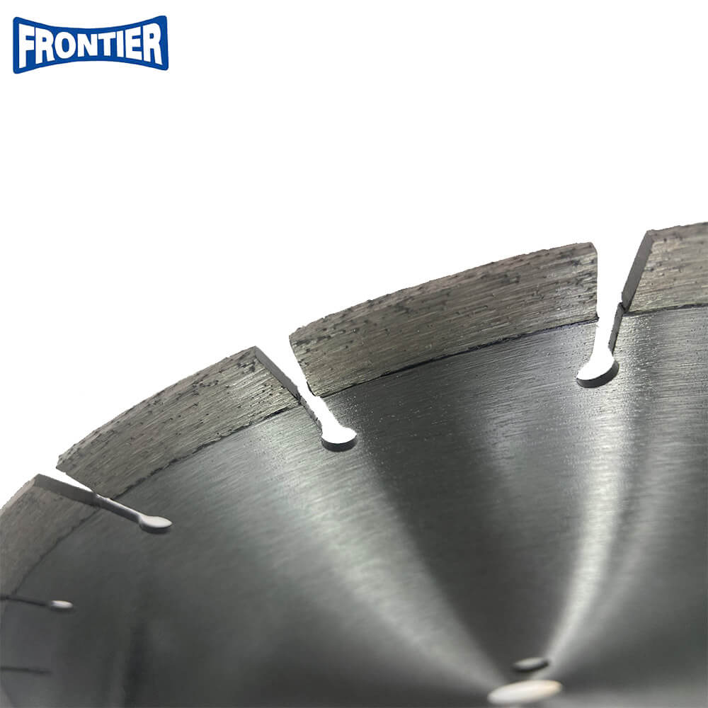 350*40*3.2/2.2*10*24*25.4 Laser Welded Diamond Cutting Disc for Cutting Asphalt