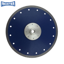 230*2.6/1.8*10*144*22.23mm Hot Press 9inch diamond turbo saw blade for cutting granite with M14 flange