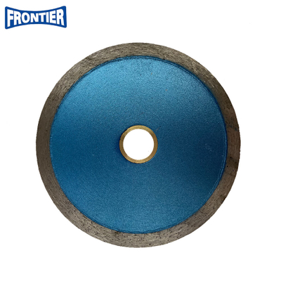 105*1.4/1.0*7*20mm Hot Press 9inch Continuous Rim Diamond Saw Blade for Wet Cutting Tile