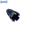 34*17*3.0*10*4*80*M14 thread Silver Brazed diamond segmented Core drill bit for dry cutting reinforced concrete , concrete