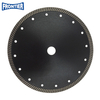 230*2.6/1.8*10*144*22.23mm Hot Press diamond fine turbo diamond saw blade for cutting granite , stone