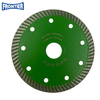 115*1.2/0.8*10*72*22.23mm Hot Press Turbo Diamond Saw Blade for Dry Cutting Hard Ceramic Tile