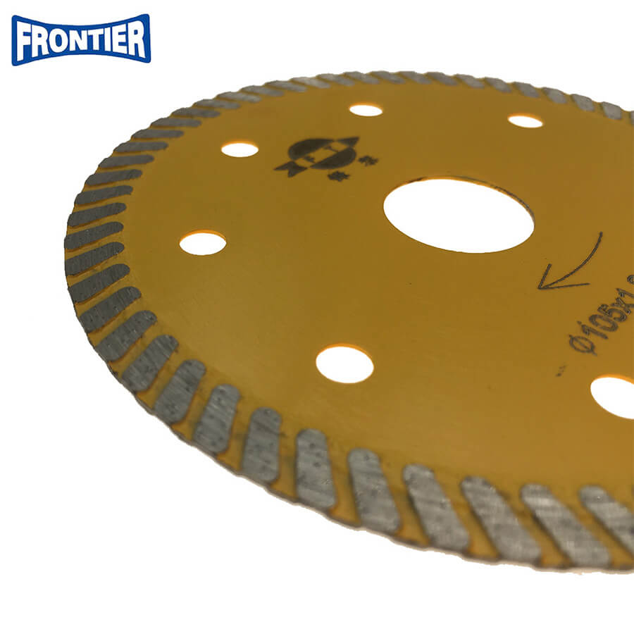 105x7x20mm 1.2mm thickness 7mm height hot press diamond saw blade for cutting ceramic tile
