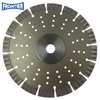 230*3.2/1.8*15*16T*22.23mm Cold Press 9inch sintered diamond segmented turbo diamond saw blade with steel plate