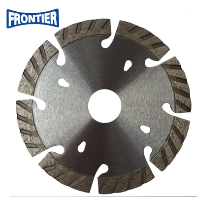 "115mm 4.5""inch Segmented turbo diamond saw blade for cutting granite"
