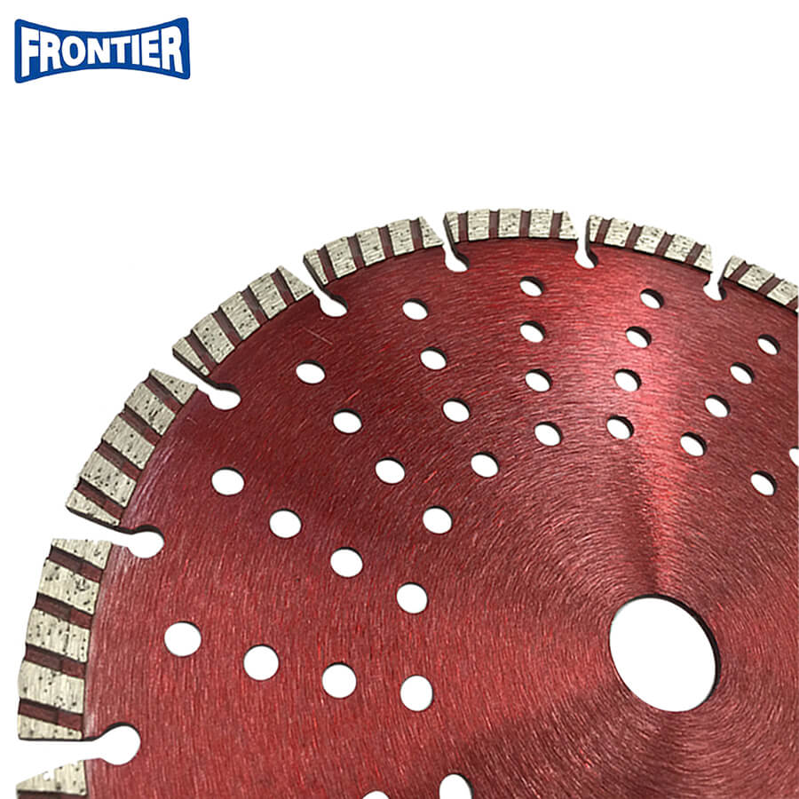 "9""inch 230x10x22.23mm segmented turbo diamond saw blade for cutting concrete"