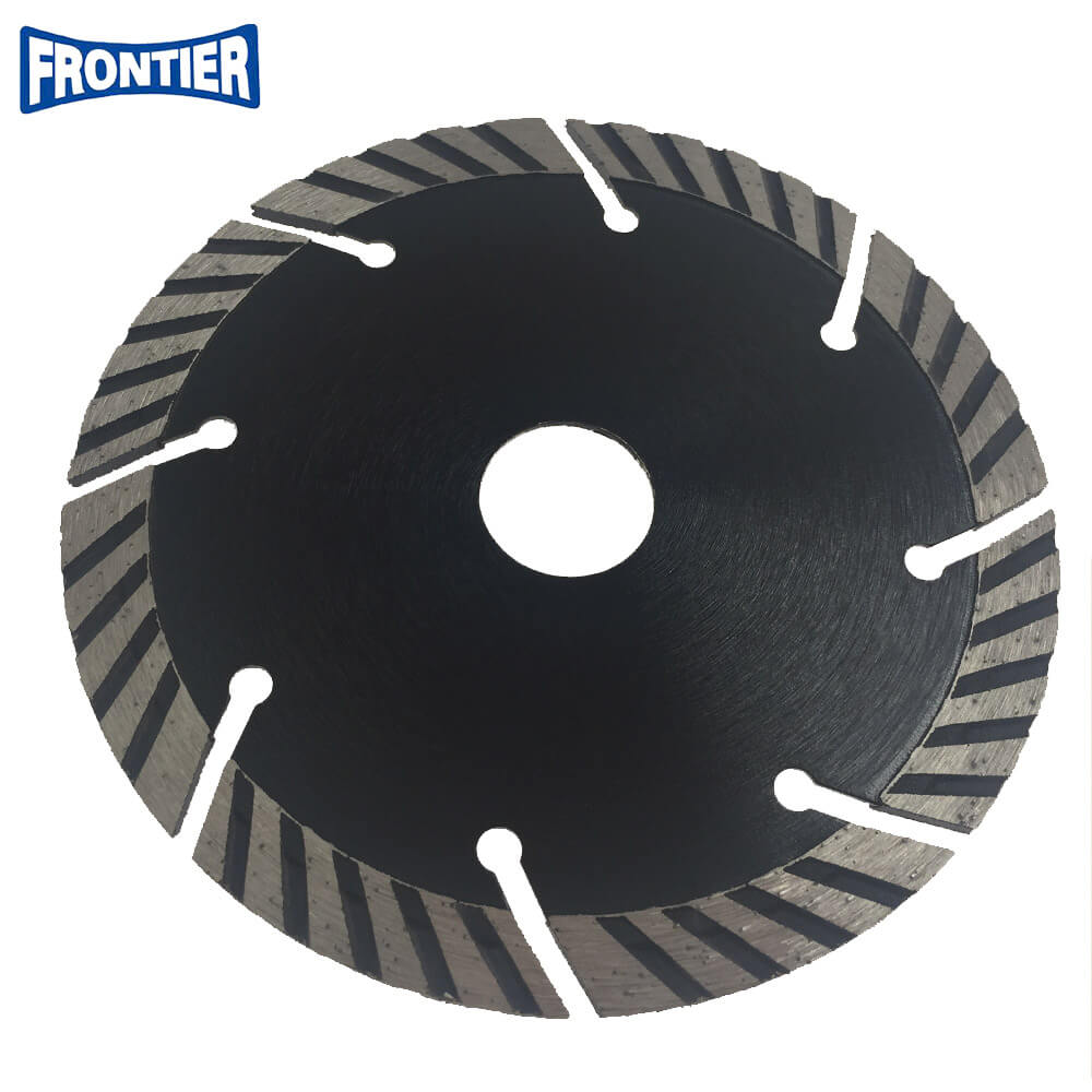 125*2.5/1.4*10*8T*22.23mm Cold Press 5inch sintered diamond segmented turbo diamond saw blade for cutting concrete