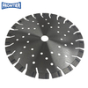 230*25*2.8/1.8*12*22T*22.23mm laser welded diamond saw blade disc with cooling holes for dry cutting reinforced concrete