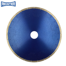 "14""inch 356x10x50mm silver brazed silent line diamond saw blade for cutting marble"