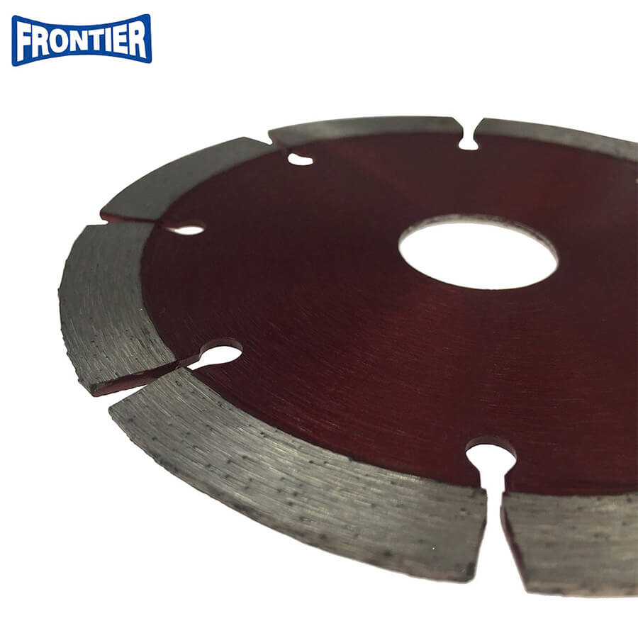 115*2.0/1.4*10*8T*22.23mm Hot Press segmented dry cutting diamond saw blade for general purpose