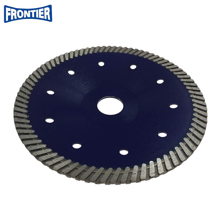 150*2.8/2.0*10*80*22.23mm Hot Press 6 inch diamond turbo bowl saw blade for dry cutting granite